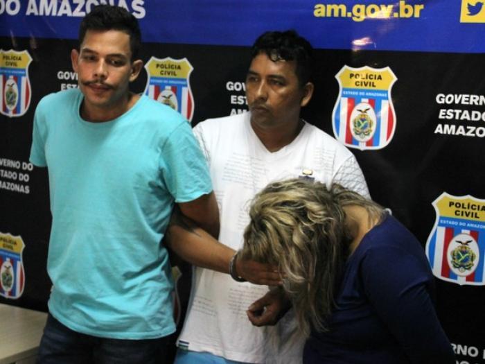 Trio é preso após fazer mãe e mulher de detento reféns, na Zona Oeste de Manaus