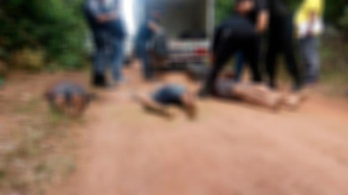 Três homens são executados e podem ser detentos que fugiram da Vidal