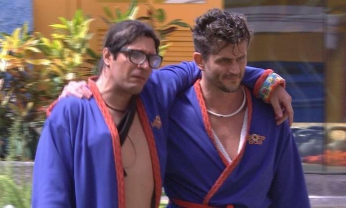 Ilmar e Marcos formam o Décimo Paredão do BBB17