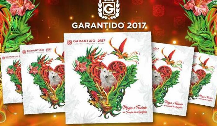 """Garantido lança cd """"Magia e Fascínio no Coração da Amazônia"""", em Parintins"""