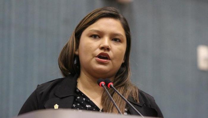 Vereadora tenta tumultuar sessão na Câmara Municipal de Manaus