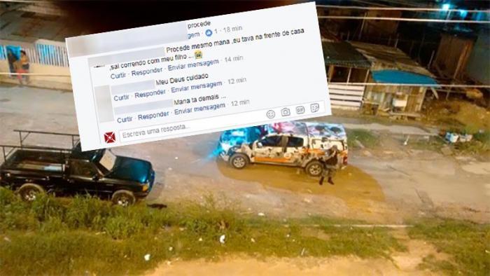 Tiros e correria em mais uma noite de terror no bairro Morro da Liberdade