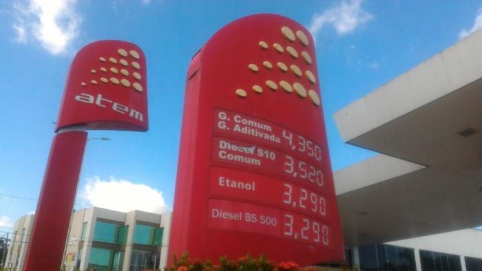 Após aumento de impostos, preço da gasolina chega a R$ 4,35 em Manaus