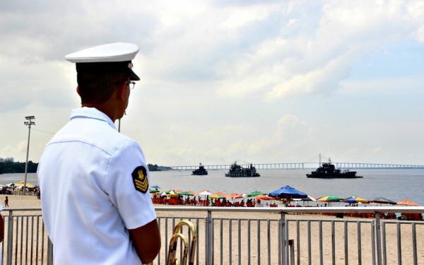 Marinha abre vagas para nível médio técnico com salários de até R$ 3,1 mil, em Manaus