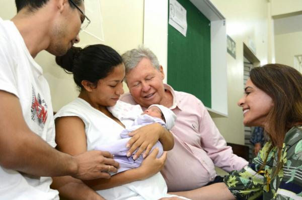 Prefeitura de Manaus lança campanha para incentivar o aleitamento materno
