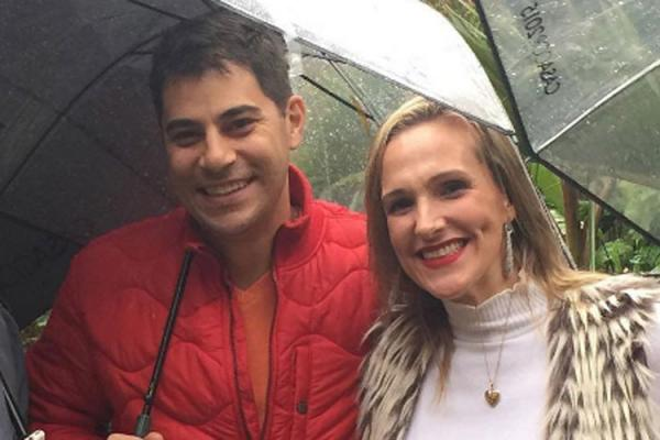 Mulher de Evaristo Costa confirma mudança para a Inglaterra
