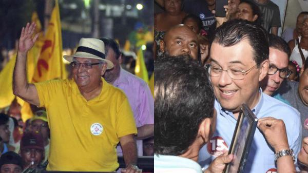 Amazonino e Braga decidirão eleição para Governador do AM no segundo turno