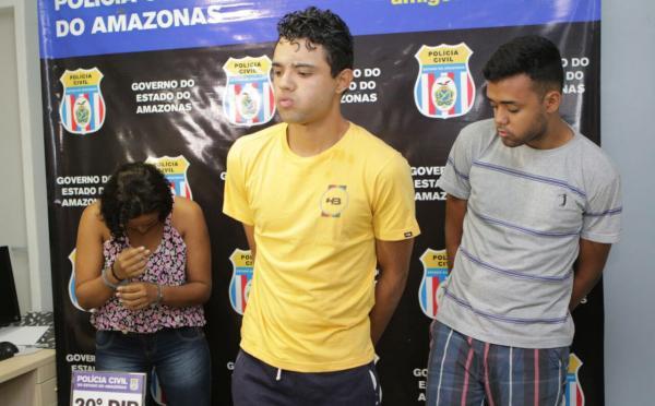 Trio é preso acusado de envolvimento em latrocínio de caseiro, no Tarumã