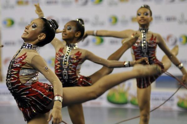 Brasileiro de ginástica rítmica inicia nesta quarta-feira, em Manaus