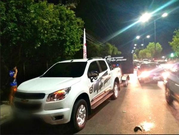 Veículos são apreendidos pelo Detran durante 'rolezinho' na Zona Oeste de Manaus