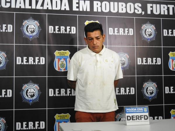 Homem é preso por roubo de R$ 430 mil, na zona Centro-Sul de Manaus