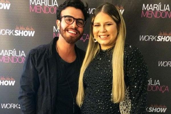 Marília Mendonça foi vista em clima de romance com ator na Barra da Tijuca