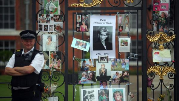 Homenagens na Europa lembram 20 anos da morte de Lady Di