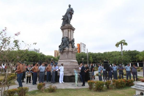 Homenagem a Tenreiro Aranha abre comemorações do dia 5 de setembro, em Manaus