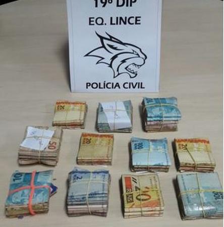 Polícia apreende R$ 24,5 mil de 'banco' do tráfico em Manaus