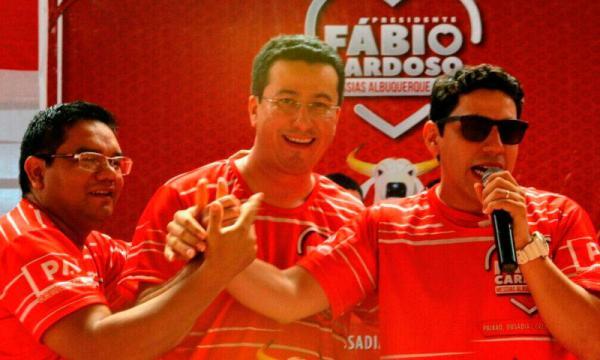 Fábio Cardoso é eleito presidente do Boi Garantido