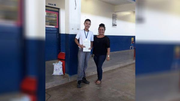 Aluno da rede municipal ganha medalha de bronze em Olimpíada Brasileira de Astronomia e Astronáutica