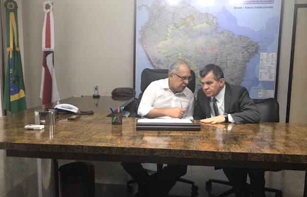 Amazonino já despacha na sede do governo; confira a lista completa dos secretários