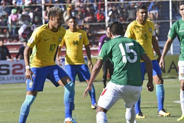 Brasil perde muitos gols e não sai do zero contra a Bolívia em La Paz
