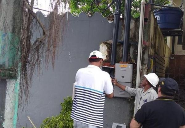 Igreja evangélica no bairro Aleixo é flagrada com ligação clandestina