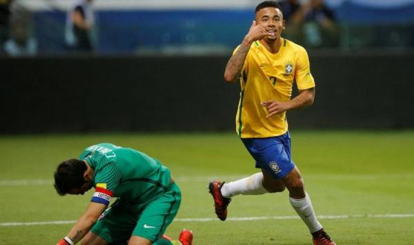 Brasil vence Chile por 3 a 0 na despedida das eliminatórias da Copa do Mundo 2018