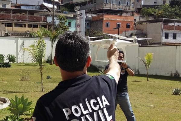 Policiais usarão drones para caçar bandidos em Manaus