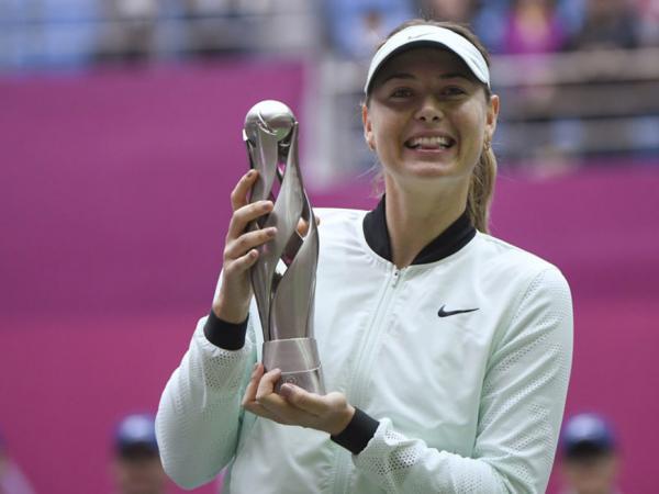 Sharapova conquista primeiro título após o retorno da suspensão por doping