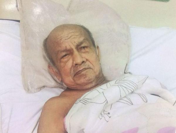 Idoso internado há mais de 15 dias em hospital de Manaus procura familiares