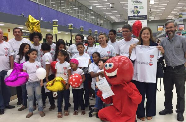 Hemoam lança projeto 'Troco Solidário'