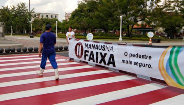 Pedestre que andar fora da faixa será multado em R$ 44,19