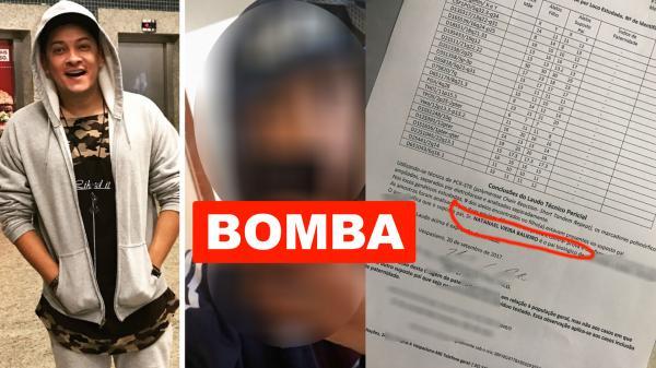 Antes de ir para o exterior, mãe revela que Natan Balieiro é pai de seu filho de 14 anos
