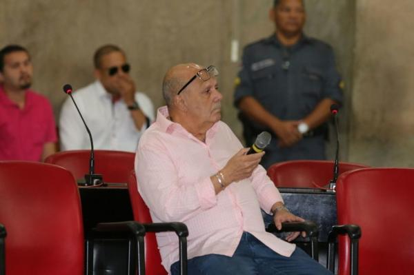 Ex-procurador Vicente Cruz volta ao banco dos réus nesta segunda-feira (6)