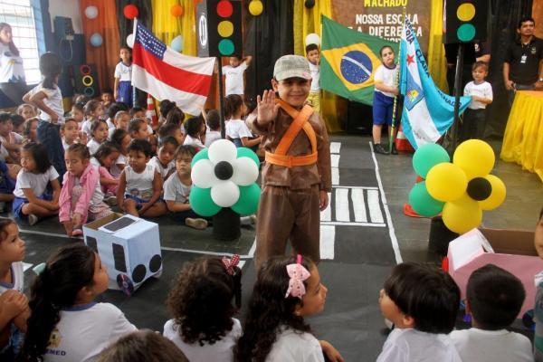 Manaus é primeiro lugar no Brasil em Educação de Trânsito