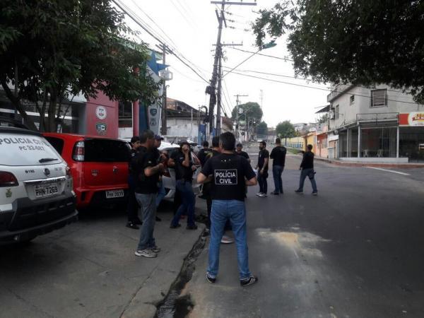 SSP realiza operação e cumpre mandados de prisão na zona Sul