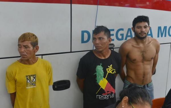 Três foragidos da Justiça são presos durante ação da SSP-AM na Zona Centro-Sul