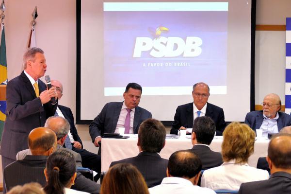 Arthur Neto e Geraldo Alckmin indicam nomes para comissão das prévias do PSDB