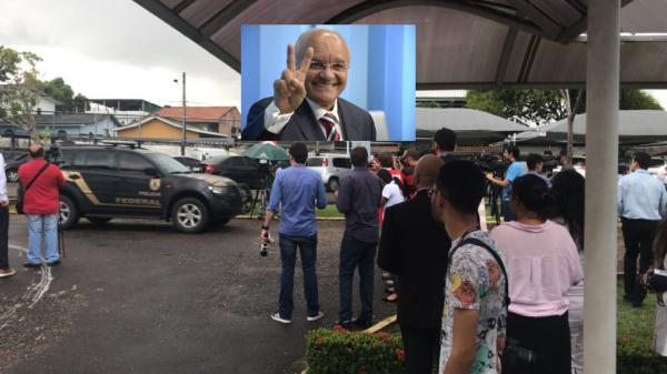 PF confirma a prisão do ex-governador José Melo e de sua esposa, Edilene Oliveira