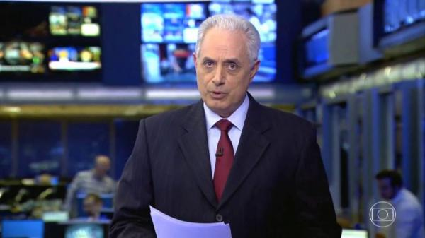William Waack é demitido da Rede Globo