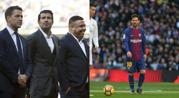 Ronaldo diz que Messi e CR7 não teriam tantas Bolas de Ouro em sua geração