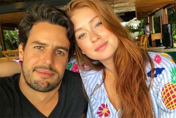 Marina Ruy Barbosa bisbilhota celular do marido e vê mensagens da sogra falando mal dela