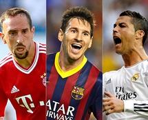 Ribéry sente que lhe tiraram a Bola de Ouro de 2013, ganha por Ronaldo