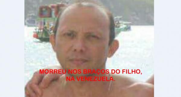 Vítima de emboscada na Venezuela morreu nos braços do filho; esposa também foi atingida