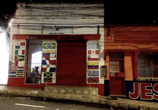 Estrangeiro é baleado por homens armados no Centro de Manaus