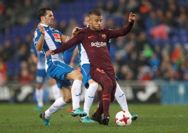 Imprensa catalã crava transferência de Rafinha do Barça para a Inter de Milão