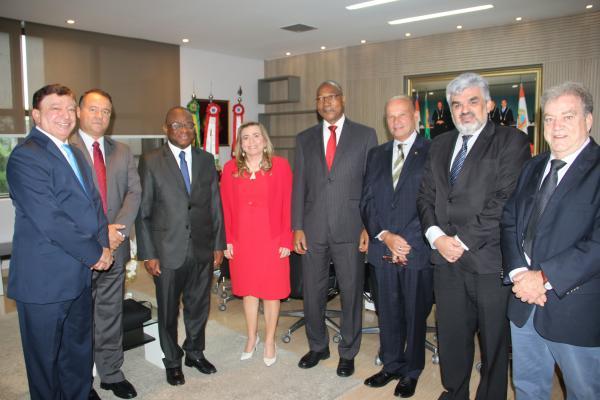 Africanos vem ao TCE-AM entender como se faz auditorias ambientais