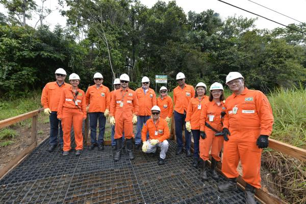 Com apoio do TCE-AM, moçambicanos visitam a base de Urucu