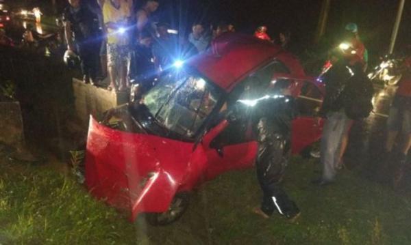 Homem morre e outro fica ferido em acidente no quilômetro 9 da rodovia Manoel Urbano