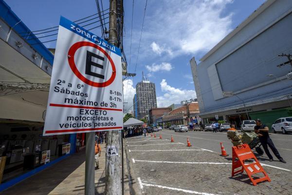 Prefeitura de Manaus prorroga gratuidade do Zona Azul