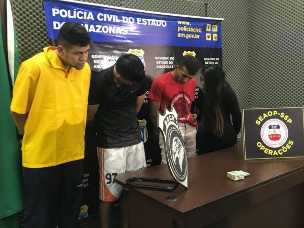 Membros de organização criminosa são presos; líder dava ordens de dentro da cadeia