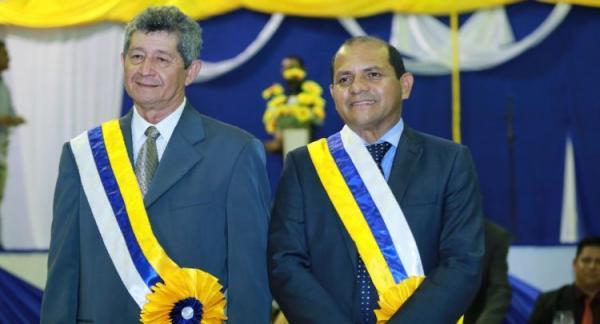 Jocione e Raiz são empossados como prefeito e vice de Novo Aripuanã